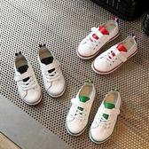 2017春款女童白色板鞋休閒寶寶單鞋Dhh977【潘小丫女鞋】