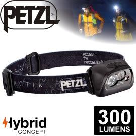 【Petzl 法國 ACTIK頭燈《300流明/黑》】E99AAA/頭燈/防潑水/緊急照明燈/登山露營/救難/手電筒★滿額送