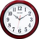 12吋紅框靜音時鐘