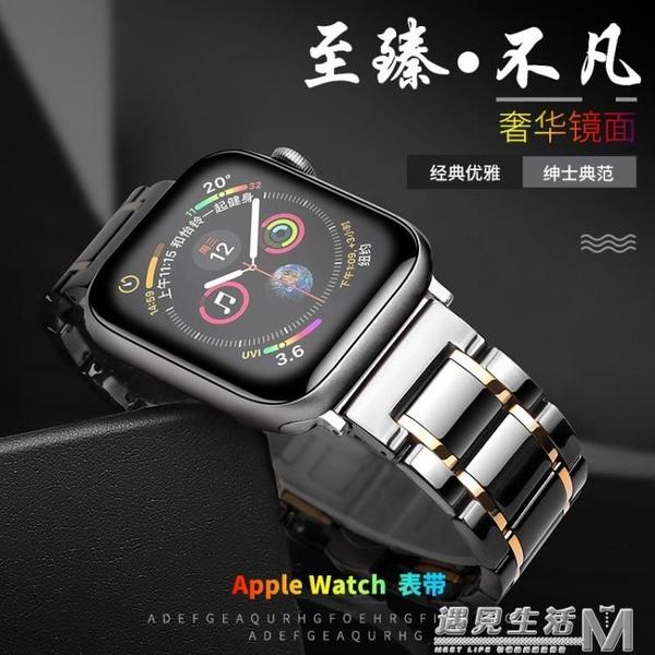 智想 apple watch 5陶瓷錶帶蘋果手錶四五代iwatch1/2/3/4代通用 遇見生活
