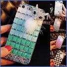 Realme X50 X7 Pro vivo X60 紅米 Note 9 Pro 小米 10 華碩 ZS670KS 漸變狐狸 手機殼 水鑽殼 訂製