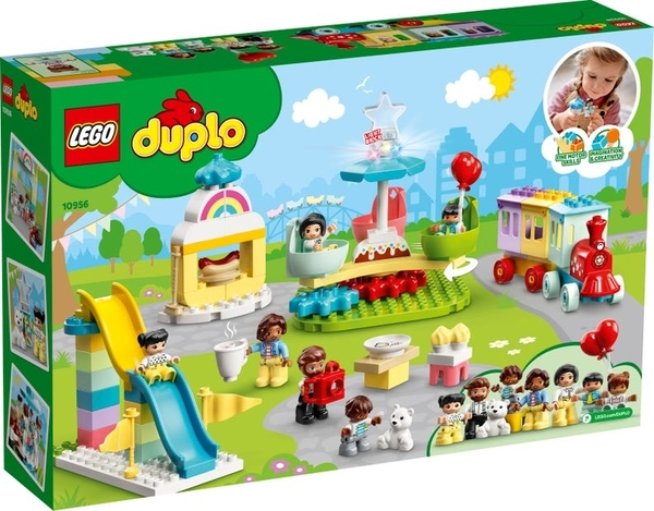 【愛吾兒】LEGO 樂高 duplo得寶系列 10956 遊樂園