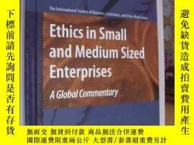 二手書博民逛書店Ethics罕見in small and Medium size