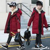 男童棉衣冬裝中長新款加厚兒童羽絨棉服襖中大童休閒韓版童裝 艾美時尚衣櫥