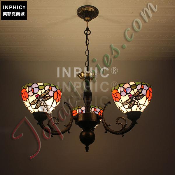 INPHIC-田園復古純手工藝術品燈飾客廳餐廳臥室蝴蝶戲花吊燈_S2626C