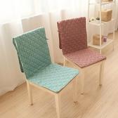 歐式餐椅墊椅子坐墊靠墊辦公室椅套椅墊套裝