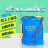 農用噴霧器鋰電池智慧輕便背負式電動噴霧器農用農藥高壓充電果樹打藥消毒機 KB6060【野之旅】