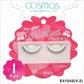 COSMOS自黏假睫毛(V-2)-單對E41048(不需要另塗膠水) [79987]