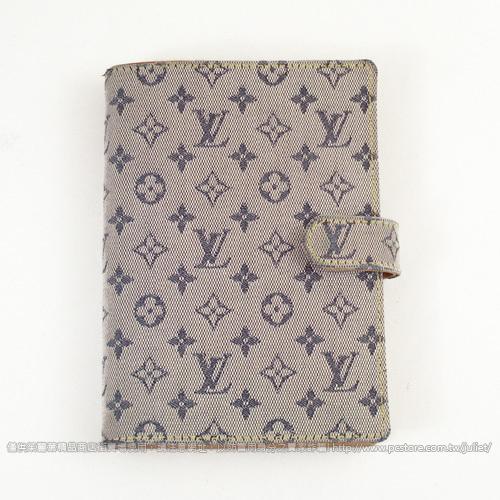 茱麗葉精品 【9.8成新】Louis Vuitton LV M20913 棉麻六孔筆記本/記事本#154