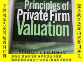 二手書博民逛書店Principles罕見of private firm valu