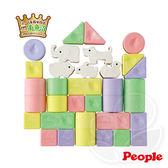 Weicker 唯可 People 彩色米的動物積木組合(米製品玩具系列)【佳兒園婦幼館】