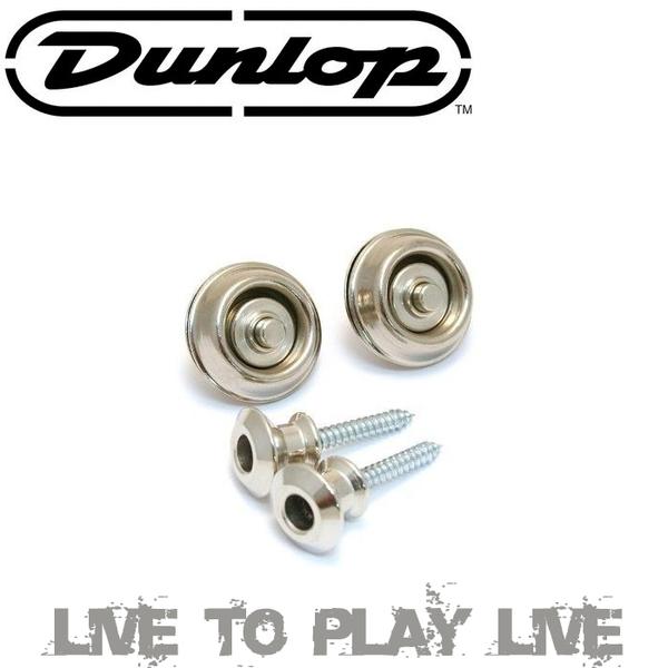 【非凡樂器】Dunlop安全背帶釦 SLS1031N 銀色