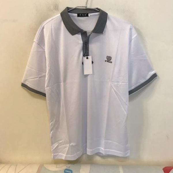 韓版修身休閒POLO衫短袖T恤(M號/222-4314)