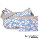 LeSportsac - Standard 側背水餃包/流浪包-附化妝包 (小雛菊) 7520P F888