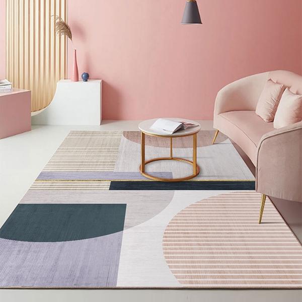 北歐風舒柔水晶絨地毯(120x160cm)-多款可選 BUNNY LIFE