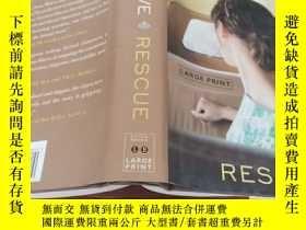 二手書博民逛書店Rescue:罕見A NovelY154527
