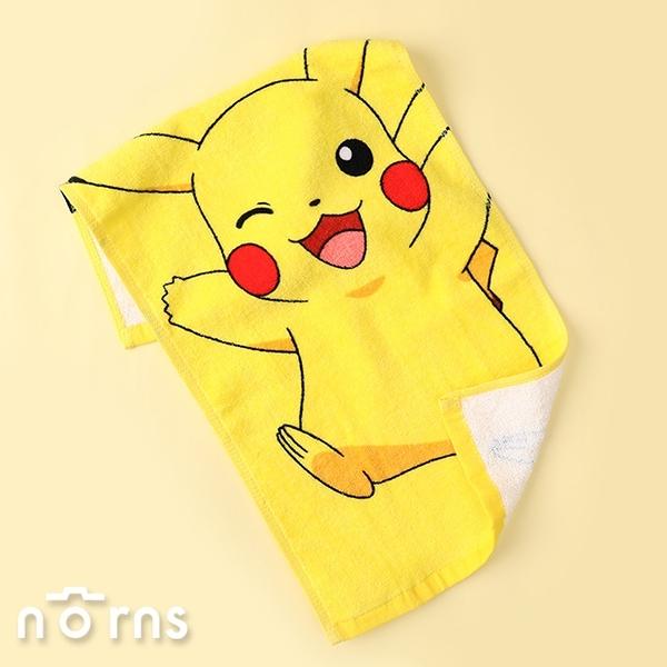 Pokemon純棉童巾- Norns 正版授權 精靈寶可夢 神奇寶貝 皮卡丘