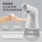 防疫 全自動感應酒精殺菌淨手噴霧機 HANLIN-ATPW 桌上型酒精消毒機 紅外線手部消毒機 手部消毒器