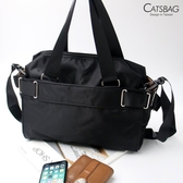 Catsbag|輕巧型多層次二用型防水側背包|手提|斜背包|C1119