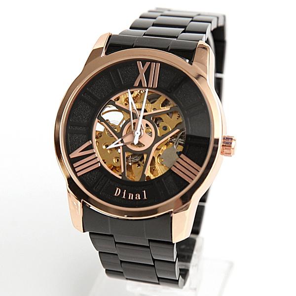 機械錶 羅馬數字鏤空飛鏢手錶【NE1967】雜誌時尚
