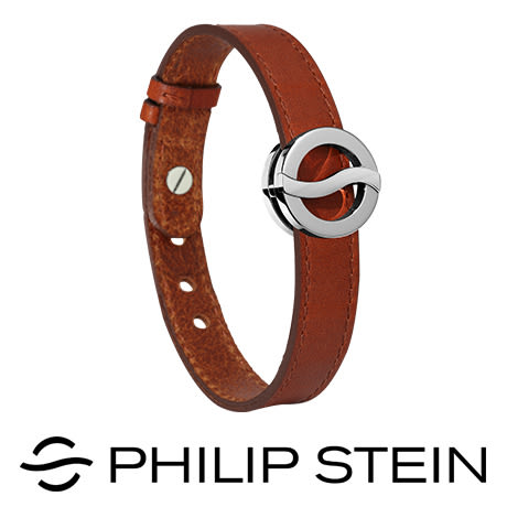 【Philip Stein】翡麗詩丹能量手環-【經典棕】睡眠手環/運動手環