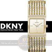 DKNY國際精品經典品牌時尚手環腕錶- IP金/22mm NY2231公司貨/生日禮物/聖誕節