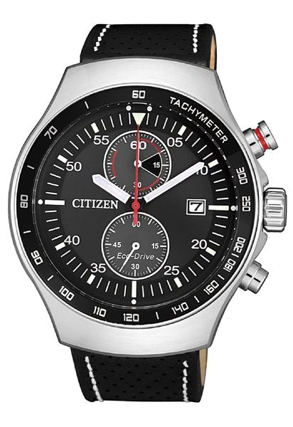43.5mm【時間光廊】星辰錶 CITIZEN 光動能 三眼計時 全新原廠公司貨 CA7010-19E