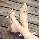 涼鞋 女百搭時尚包頭女鞋學生粗跟森女鞋子女士鞋夏季