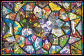 【拼圖總動員 PUZZLE STORY】大集合 日本進口拼圖/Ensky/神奇寶貝/1000P/透明塑膠