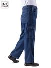 勞保褲 純棉加厚多口袋工作褲男士牛仔勞保褲子工裝褲夏季薄款電焊工長褲 (快速出貨)