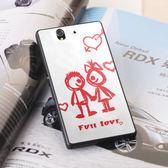 [ 機殼喵喵 ] SONY Xperia T2 Ultra D5303 XM50h 手機殼 客製化 照片 外殼 全彩工藝 SZ062 愛情塗鴉