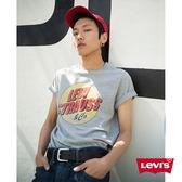 T恤 男裝 / 復古塗鴉 / 灰色 - Levis