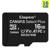 KINGSTON 16GB 16G microSDHC【100MB/s-Plus】microSD SDHC micro SD UHS U1 TF C10 Class10 SDCS2/16GB 金士頓 手機記憶卡