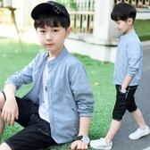 兒童防曬衣 男童防曬衣夏裝薄外套2020年新款春秋童裝兒童中大童透氣洋夾克潮【快速出貨】