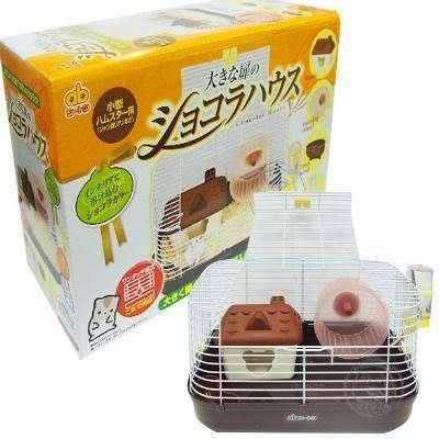【 zoo寵物商城】《GEX》巧克力莊園豪華鼠籠