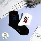 【正韓直送】韓國襪子 卡斯柏與麗莎中筒襪 長襪 女襪 棉襪 禮物 韓妞必備 哈囉喬伊 U2