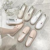 小白鞋女2020春新款軟底透氣平底豆豆鞋舒適防滑百搭不累腳護士鞋 唯伊