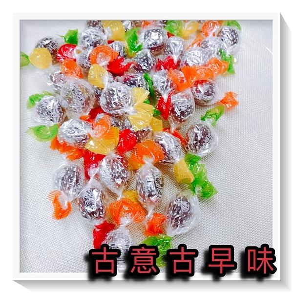 古意古早味 梅心軟糖 (3000公克/量販包) 懷舊零食 梅糖 梅子糖 QQ梅心糖 梅子軟糖 軟糖