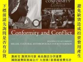 二手書博民逛書店Conformity罕見And Conflict: Readings To Accompany Miller Cu