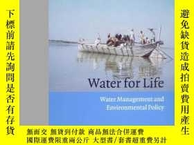 二手書博民逛書店Water罕見For Life: Water Managemen