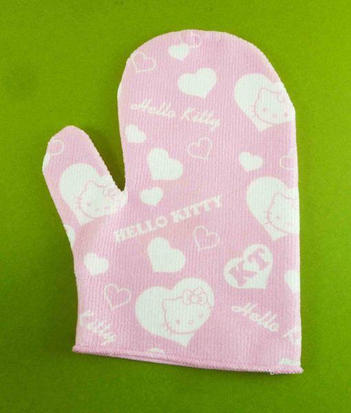 【震撼精品百貨】Hello Kitty 凱蒂貓~沐浴手套~粉【共1款】