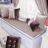 飄窗墊定做窗臺墊陽臺墊歐式榻榻米墊高密度海綿實木沙發墊訂做 小巨蛋之家