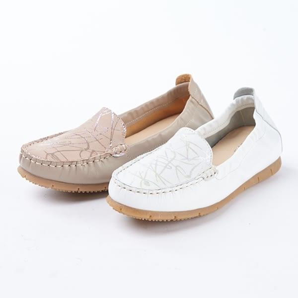 ★2018春夏新品★kadia.紓壓樂活 拼接羊皮休閒鞋(8020-31棕)