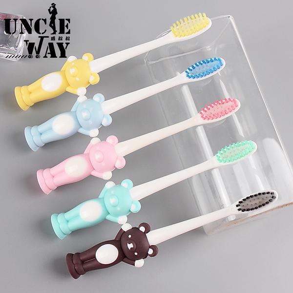 4支一組-兒童造型牙刷 造型牙刷 牙刷 幼兒牙刷 兒童牙刷 軟毛牙刷 兒童軟毛牙刷 學齡孩【H0228】