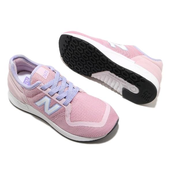 New Balance 休閒鞋 NB 247 v3 粉紅 白 中童鞋 大童鞋 女鞋 復古慢跑鞋 運動鞋 【ACS】 YH247SJ3W