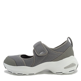 SKECHERS D LITE ULTRA [12862GRY] 女鞋 休閒 時尚 運動 透氣 增高 吸震 魔鬼氈 灰白