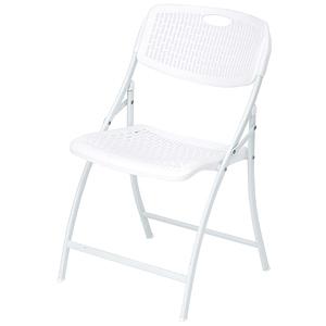 炫彩折合椅-白色