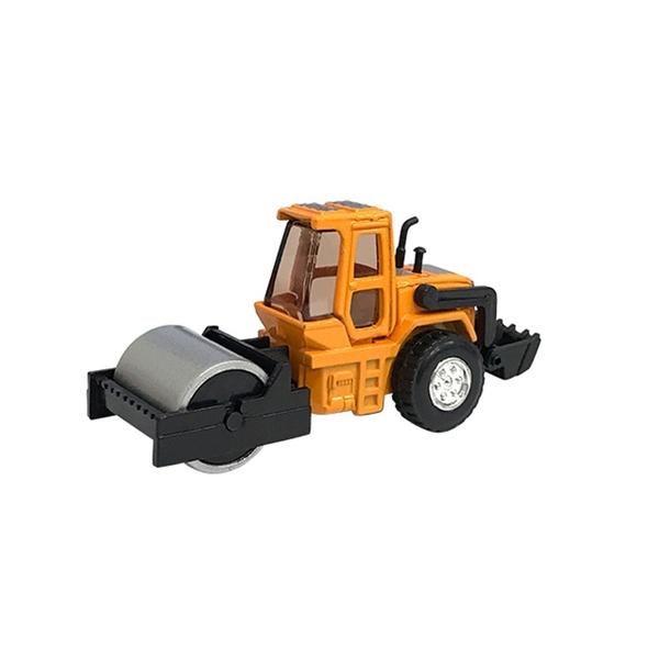 A&L奧麗迷你合金車 NO.53 壓路車 滑行車 壓實機 平路機 工程模型車(1:64)【楚崴玩具】