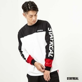 STAYREAL 潮運動跳色長T