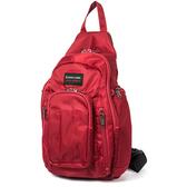 YESON - 休閒簡約單肩背包 - 五色可選MG-7216紅
